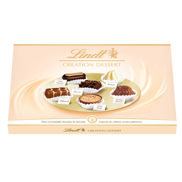 Lindt Création Dessert Chocolats Assortis Lindt, 180g