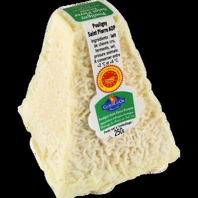 Pouligny Saint Pierre AOP,lait cru 23%mg Cloche d'or 250g PE