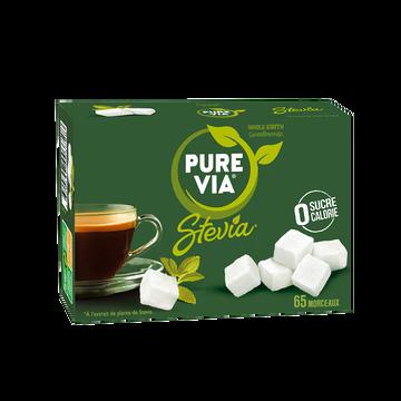 Pure Via Sucre Pure Via, Boîte De 65 Morceaux Soit 130g