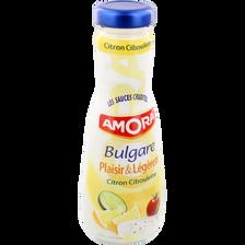 Sauce crudités Bulgare au citron et ciboulette AMORA, 290ml