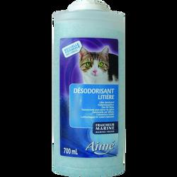 Désodorisant litière chat marine, AIME, 700ml