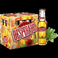Bière arômatisée téquila DESPERADOS, 5,9° 12x33cl