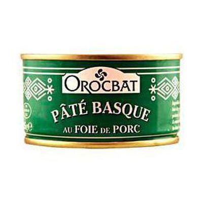 Pâté Basque au foie de porc OROCBAT, 185g