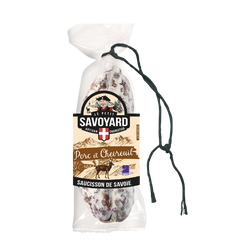 Saucisson sec au chevreuil LE PETIT SAVOYARD, 200g