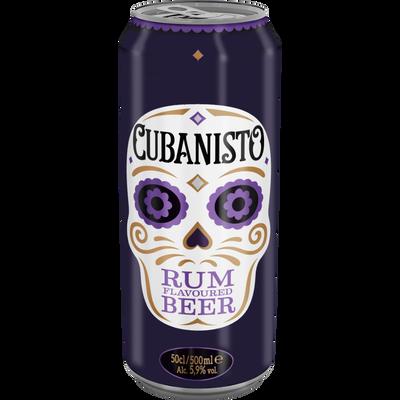 Bière CUBANISTO, 5,9°, boite de 50cl