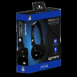 Casque PS4 Pro 4-10 noir
