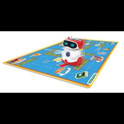 Doc robot programmable pour la programmation CLEMENTONI, enseigne les letres, lesnombres, les couleurs et le nom des animaux, 3 lots LR6 non inclus