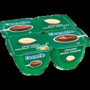 Danone Danette Au Chocolat Noisette, 4x125g