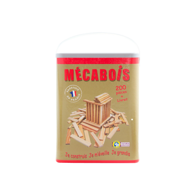 Mecabois en pin naturel pefc 200 pieces