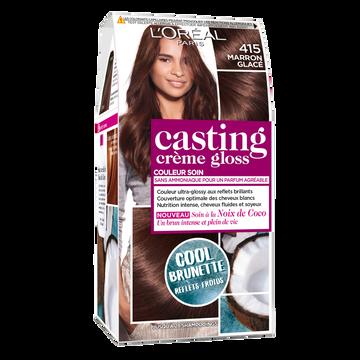 L'Oréal Coloration Ton Sur Ton Casting Crème Gloss, Marron Glacé, N°415