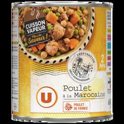 Poulet à la marocaine U, boîte 4/4, 540g