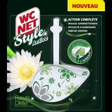Bloc style active action complète senteur fleurs d'été WC NET