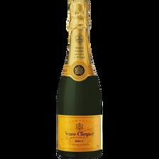 Champagne brut Veuve Clicquot Ponsardin 12°, bouteille de 37,5cl