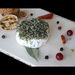 Fromage de chèvre au lait thermisé ail&fines herbes LOIC CHUPIN, 18% de MG, x3 soit 120g