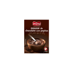 Mousse au chocolat avec pépites micau 145g