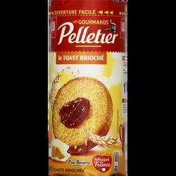 Toasts briochés PELLETIER, 150g