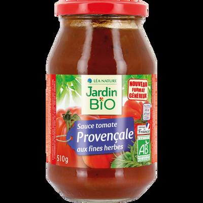 Sauce tomate cuisinée à la provençale bio JARDIN BIO 510g