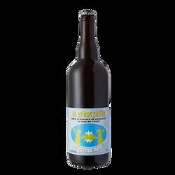 Bière blanch artisanale francomtoise BRINDEZINGUE 5.5°, 75c