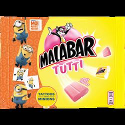 Bubble gum Tutti Frutti MALABAR, 214g
