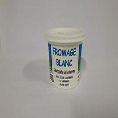 Fromage blanc 40% Mg 500g La Ferme de la Sablonnière