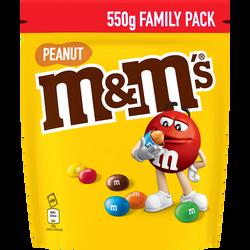 Cacahuètes chocolat au lait M&M'S, pochon de 550g