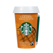 Starbucks Boisson Lacté Café Arabica Caramel Macchiato Starbucks, Cup De 220ml