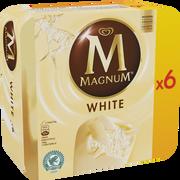 Magnum Magnum Chocolat Blanc, X6 Soit 474g