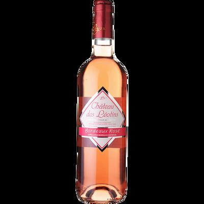 """Vin rosé AOP Bordeaux """"Château des Léotins"""", 75cl"""