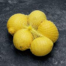 Citron jaune primofiori, calibre 4/5, catégorie 1, non traité après récolte, Espagne, filet 500g
