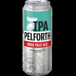 Bière blonde PELFORTH IPA, 5,9°, cannette de 50cl