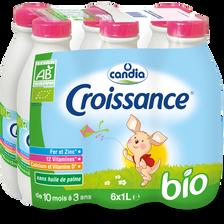 Croissance bio CANDIA, 6x1l