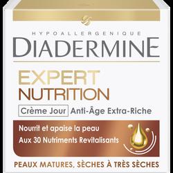 Crème expert rides 3D nutrition de jour DIADERMINE, pot de 50ml