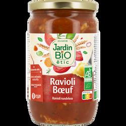Ravioli au boeuf  bio JARDIN BIO 700g