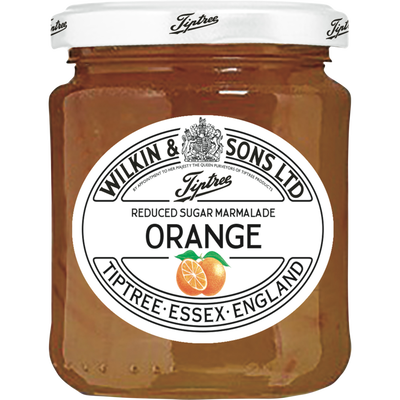 Marmelade orange réduite en sucre TIPTREE, 200g