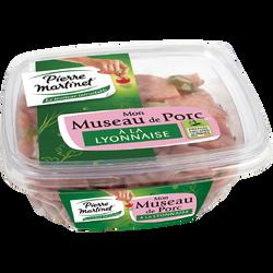 Museau de porc à la Lyonnaise PIERRE MARTINET, 300g
