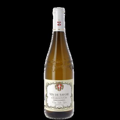 Vin blanc de Savoie Cardonnay AOP Rouqille, bouteille 75cl