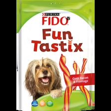 Fido Friandises Pour Chien Funtastix Goût Bacon Fromage ,150g