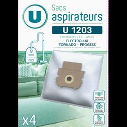 SAC ASPIRATEUR U SU1203 X4