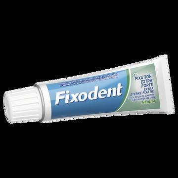 Fixodent Crème Adhésive Pour Prothéses Dentaires Neutral Fixodent 47g