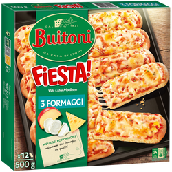 Pizza fiesta fromage BUITONI, 500g