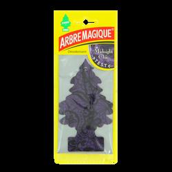 Sapin parfumé ARBRE MAGIQUE, motifs chics, fragrance féminine