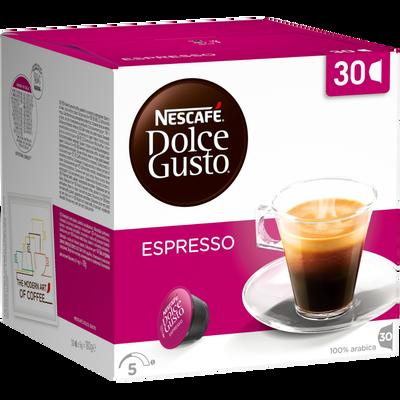 Nescafé DOLCE GUSTO, expresso x30, capsules, 180g