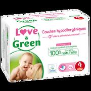 Love & Green Couches Sensitives Et Écologiques Taille 4 Love&green, X46