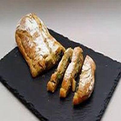 Préfou pain à l'ail et chèvre FABRICATION MAISON