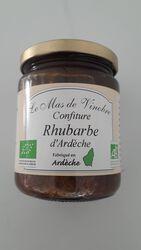 Mas de Vinobre, Confiture Rhubarbe d'Ardèche, 320gr