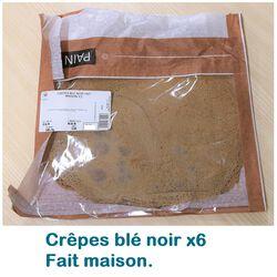 CREPES BLE NOIR FAIT MAISON X6