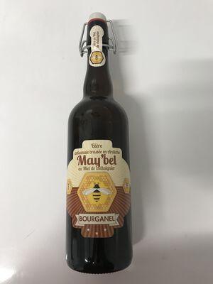 Bière artisanale bourganel au miel de chataignier de l'Ardèche 75cl