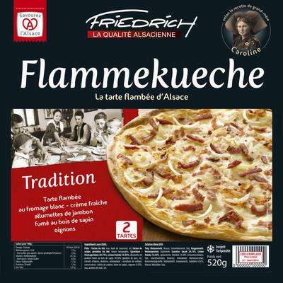 Tartes flambées tradition FRIEDRICH, x2 soit 260g