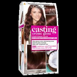 Coloration CASTING crème gloss, chocolat ganache, n° 525