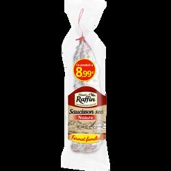 Saucisson sec pur porc, HENRI RAFFIN, 800g